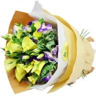 10pcs Yellow Calla Lily Bouquet