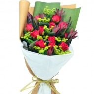 12pcs Roses Bouquet