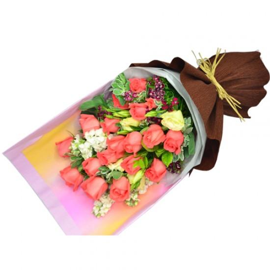 18pcs Roses Bouquet