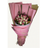 One and a half dozen Milk Pink Roses Bouquet