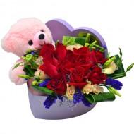 Teddy in My Heart (Pink Teddy)