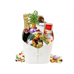 Christmas Cider and Cookies Hamper