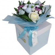 Baby BOY Flowers Bouquet