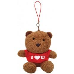 I Love You Teddy Bear (Red)