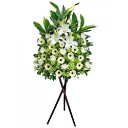 Sympathy Flowers arrangement 7