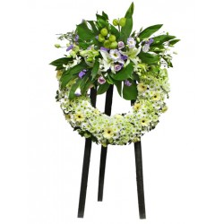 Sympathy Flowers arrangement 9